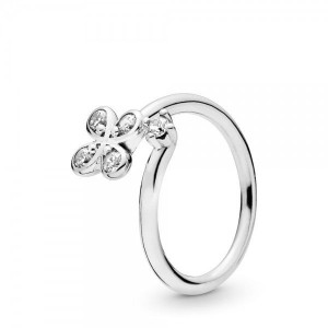 Ring PANDORA Four Petal Flower