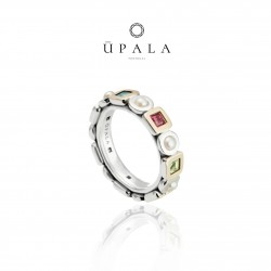 Ring Upala Plata and gold