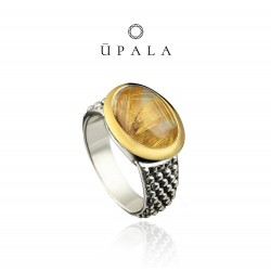 Ring Upala silve and gold