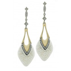 Earrings GUMUS Silver and Gold