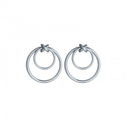 Earrings OMNIA Silver Together