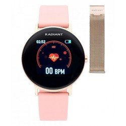 Smartwatch Radiant Wall Street 42 mm Rose Gold